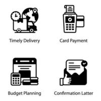Ecommerce and Delivery vector