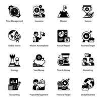 Project Management and Elements vector