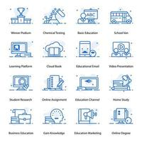 School and Modern Education vector