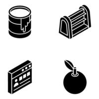 Education and Elements vector