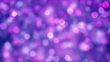 Hermoso colorido bokeh luces celebración de fiestas gráficos en movimiento video de fondo