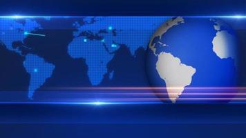 wereldwijde nieuwsachtergrond video