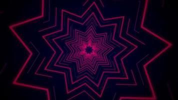 ster neonlicht vj achtergrond video