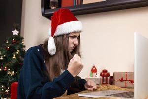 Christmas online congratulations photo