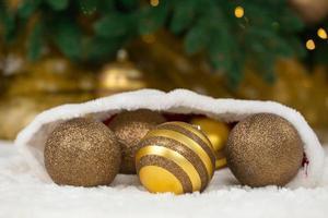 Christmas concept ball photo