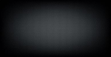 Panoramic texture of black and gray carbon fiber vector