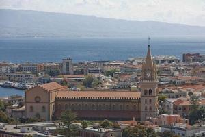 Messina Cathedral, a Roman Catholic cathedral located in Messina, Sicily, Italy photo