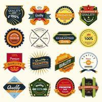 Badges Lables Design vector