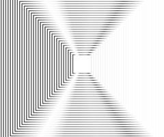 Fondo de vector cuadrado de línea geométrica abstracta