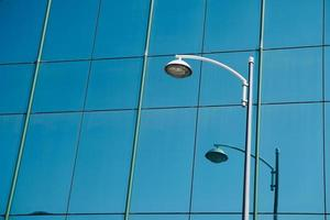 street lamp in the city photo