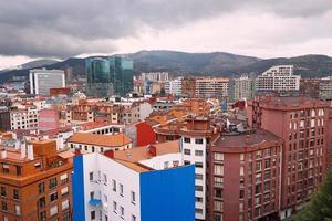 cityscape of Bilbao city Spain travel destination photo