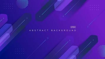 Minimal geometric background. Dynamic shapes clean composition vector illustration.
