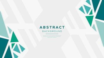 Abstract background with polygonal shapes and trend color. Minimalist triangle design. vector