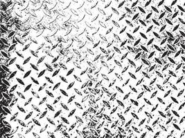 Rust and dirt overlay black and white texture vector