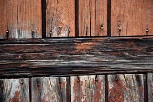 Fondo de textura de madera de paneles antiguos foto