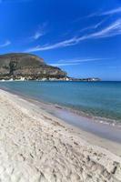 Mondello at Sicily Italy photo
