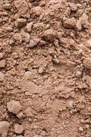 Fondo natural de la superficie del suelo marrón foto