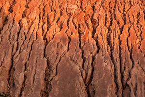 Fondo y textura detallados del cañón natural foto