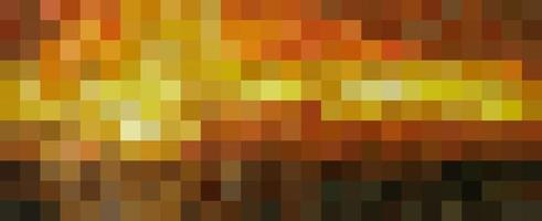 Square pixelated gradient background vector