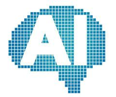 Artificial Intelligence Vector Symbol Illustration Isolated On A White Background