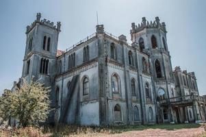 antigua finca abandonada en ucrania foto