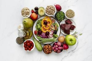 el régimen alimenticio de la dieta flexitariana foto