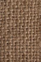 vista superior de la textura de la tela foto