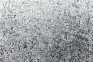 la textura rugosa de la superficie metálica foto