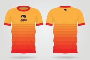 temporario de camiseta deportiva vector