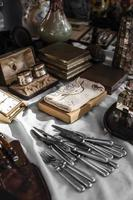The Antiques market objects arrangement photo