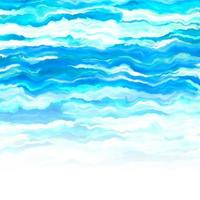 abstract painted ocean themed background vector