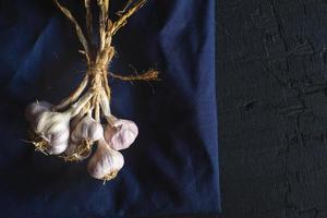 especias de ajo para cocinar foto