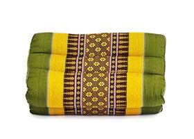 Thai pillow style with Monkhit Isolated photo