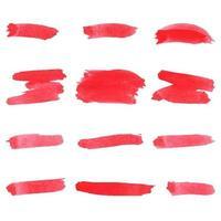 watercolor brush texture brush stroke design vector
