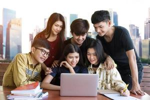 Back to school education, knowledge for college and university photo