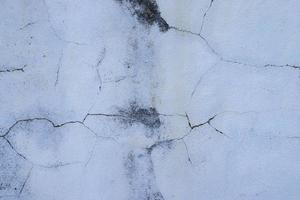 Textura de pared de hormigón blanco para el fondo foto