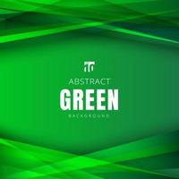 Template summer green nature shapes triangles overlapping with shadow on header and footers background. vector