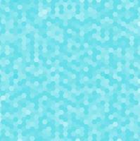 Abstract blue hexagonal pattern. Geometric mosaic background vector