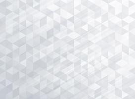 Abstract striped geometric triangles pattern gray color background and texture vector