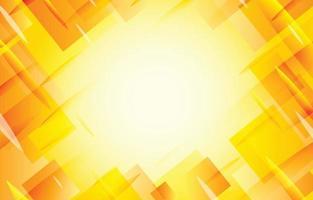 Yellow Asymmetric Background Template vector