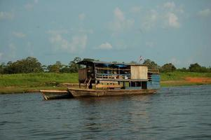 The slums of Belen village in Iquitos photo