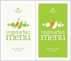 Food Menu Card vector