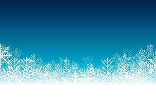 Abstract Beauty Christmas and New Year Background with Snow and Snowflakes vector