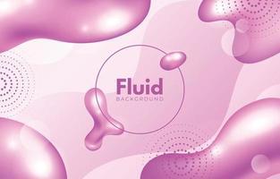 Fluid Pink Background vector