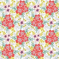 Decorative beautiful abstract modern floral seamless pattern design vector illustration background wedding greeting invite scrapbooking paper fabric