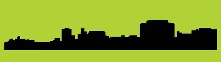 New Jersey Trenton city silhouette vector