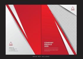 corporate company profile cover vector