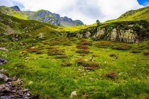 Landscape near Lake Levico, Trento, Italy photo