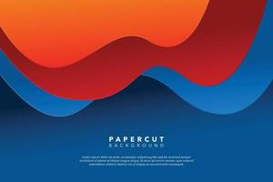 diseño de fondo abstracto moderno rojo azul vector