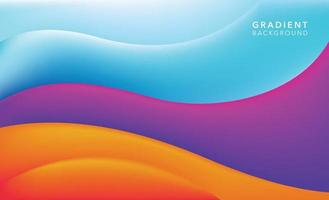 colorful modern abstract background design vector